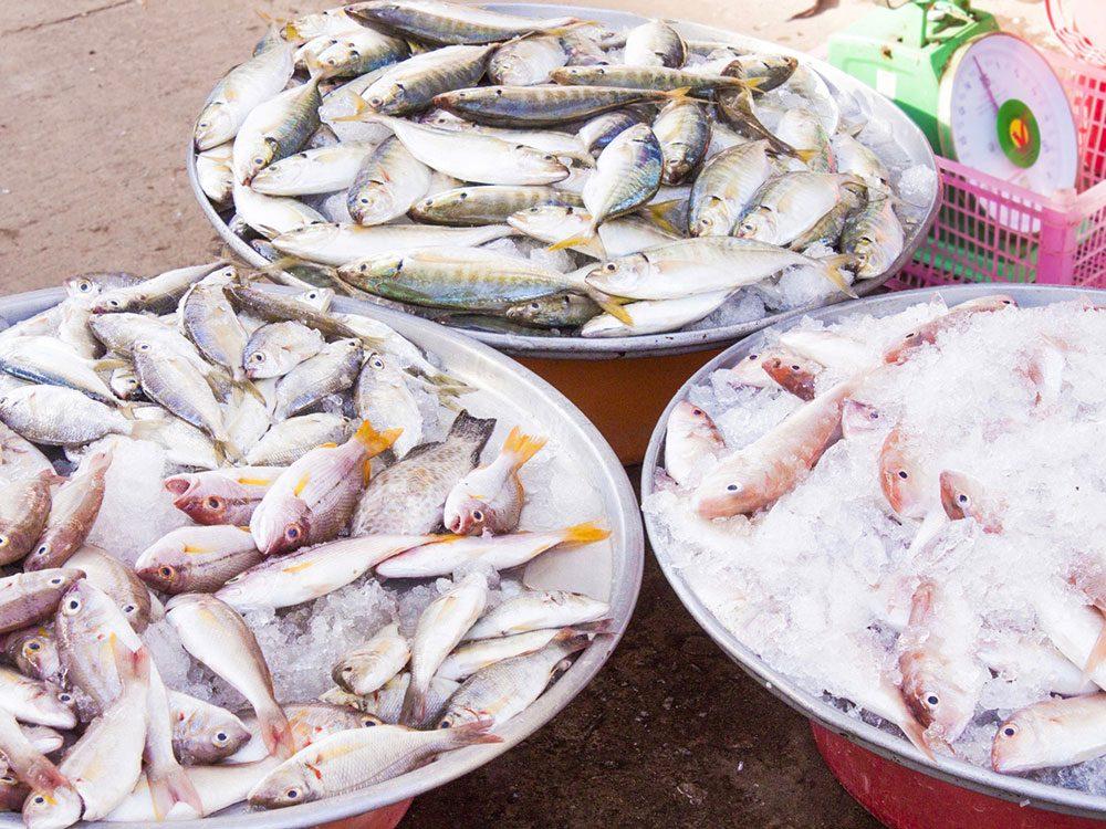 Fish market in Taiwan