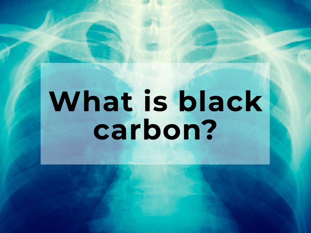 What is black carbon?