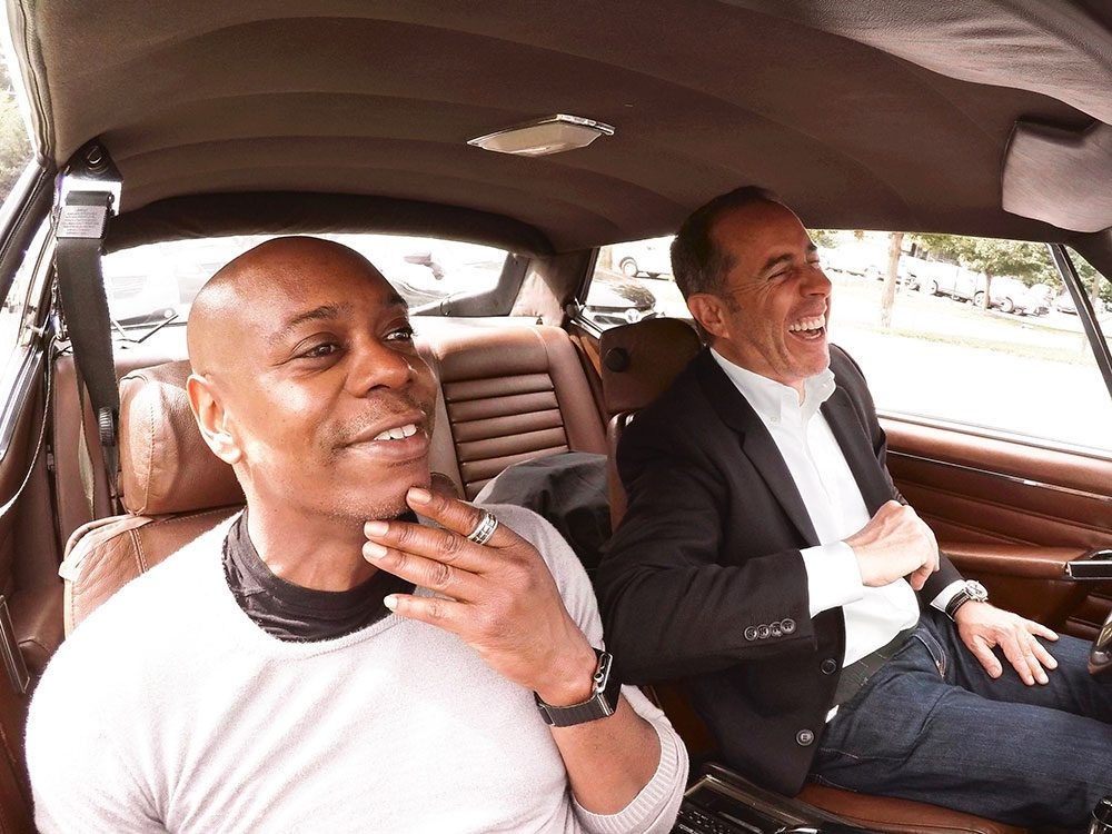 Dave Chappelle and Jerry Seinfeld
