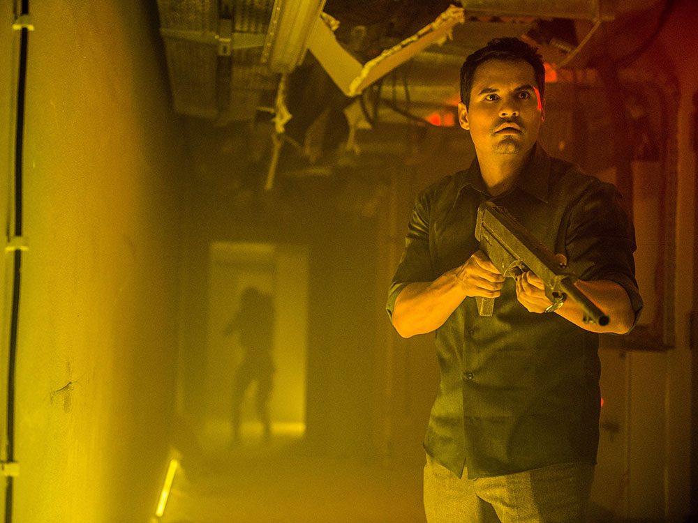 "Michael Pena in ""Extinction"""