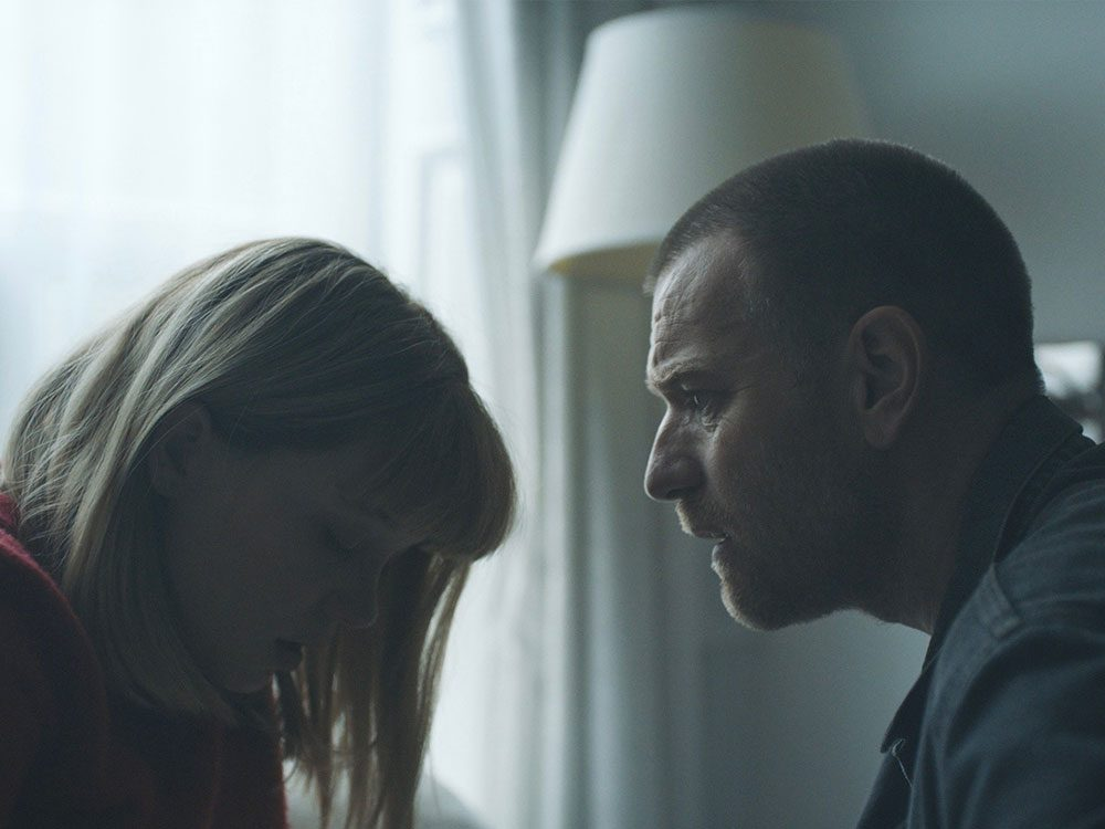"Lea Seydoux and Ewan McGregor in ""Zoe"""