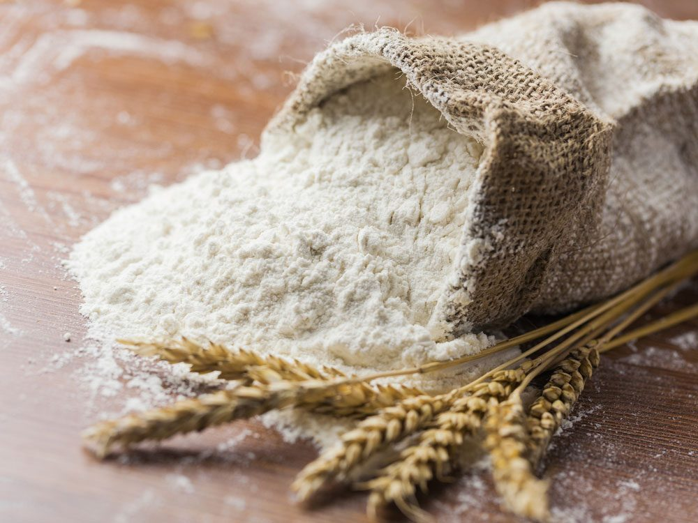 Raw all-purpose flour