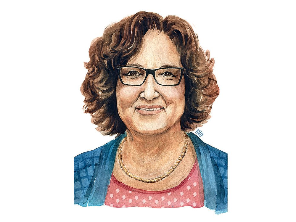 Canadian feminist and author Judy Rebick