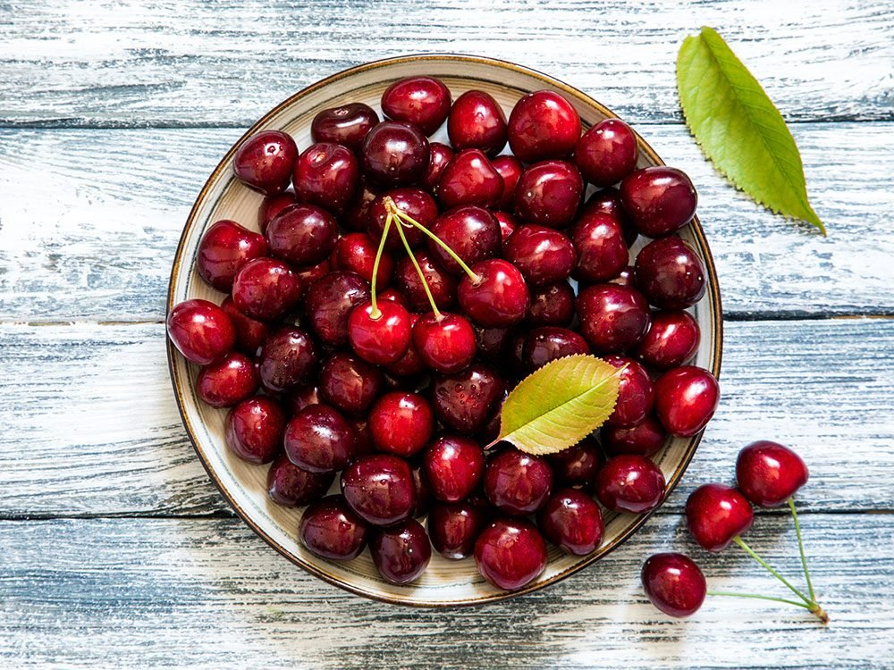 Cherries fight inflammation