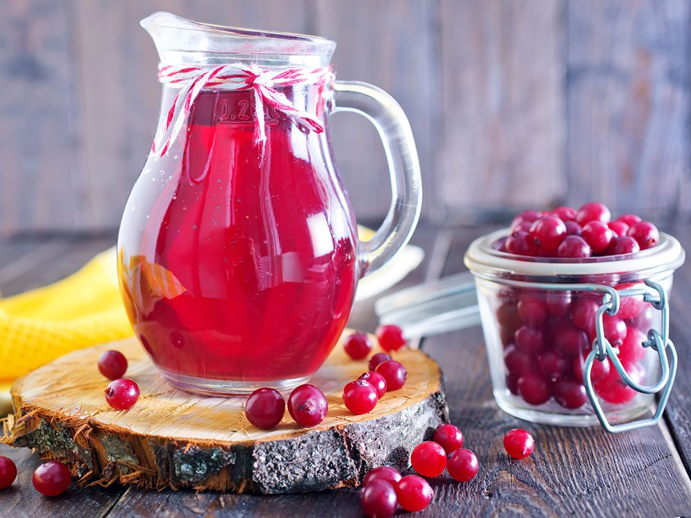 Cranberry juice fights inflammation
