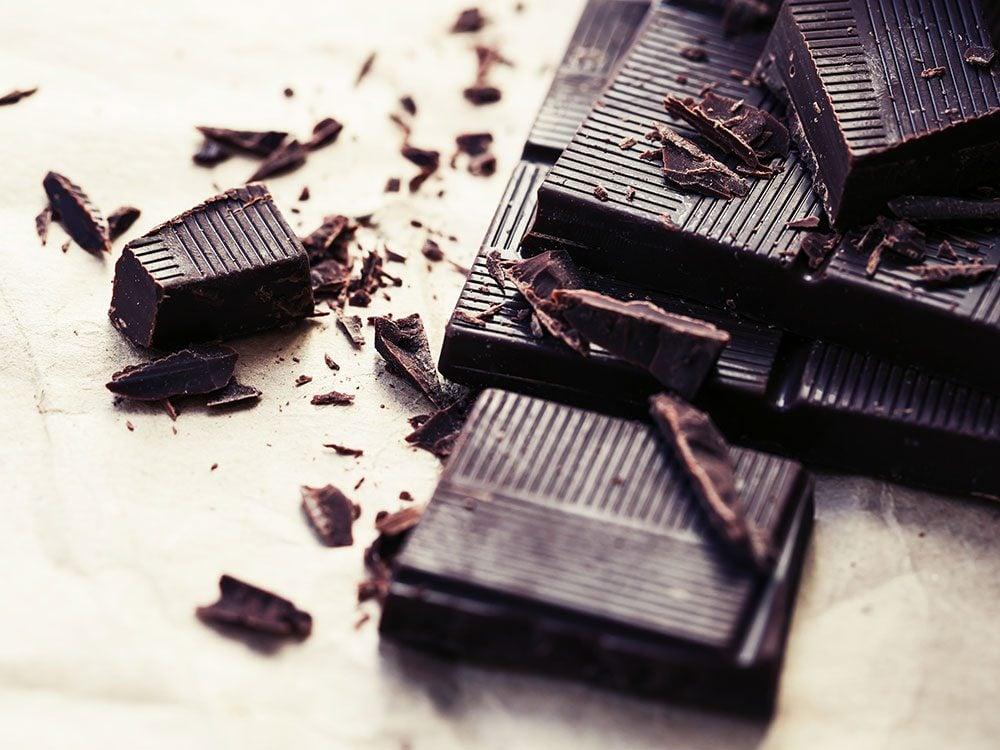 Dark chocolate fights inflammation