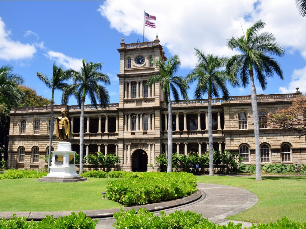 Iolani Palace in Hawaii