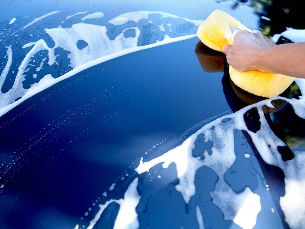 Homemade car wash tricks to get rid of paint rub