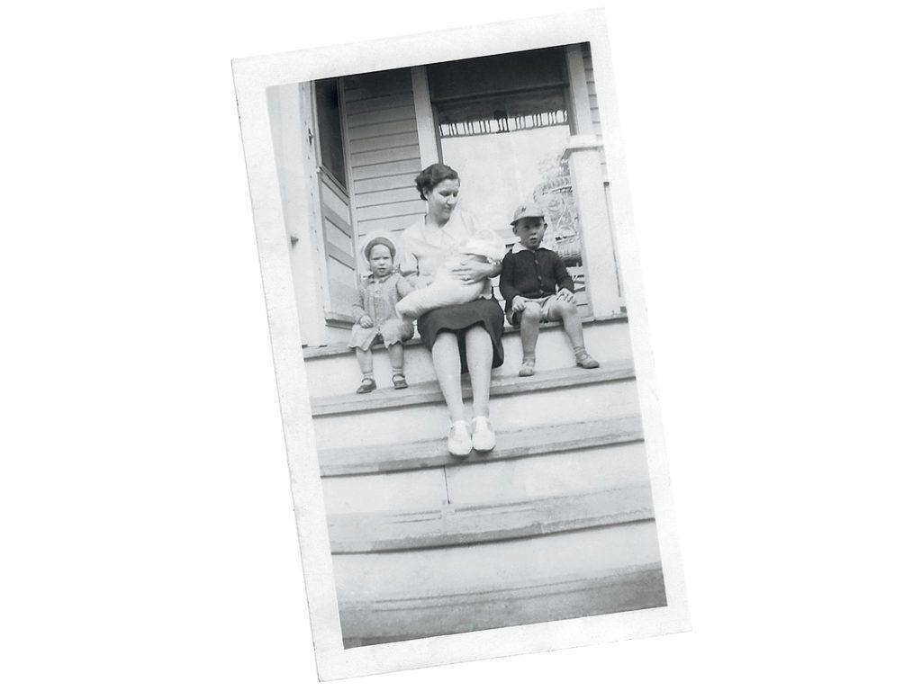 Living in Edmonton in the 1940s