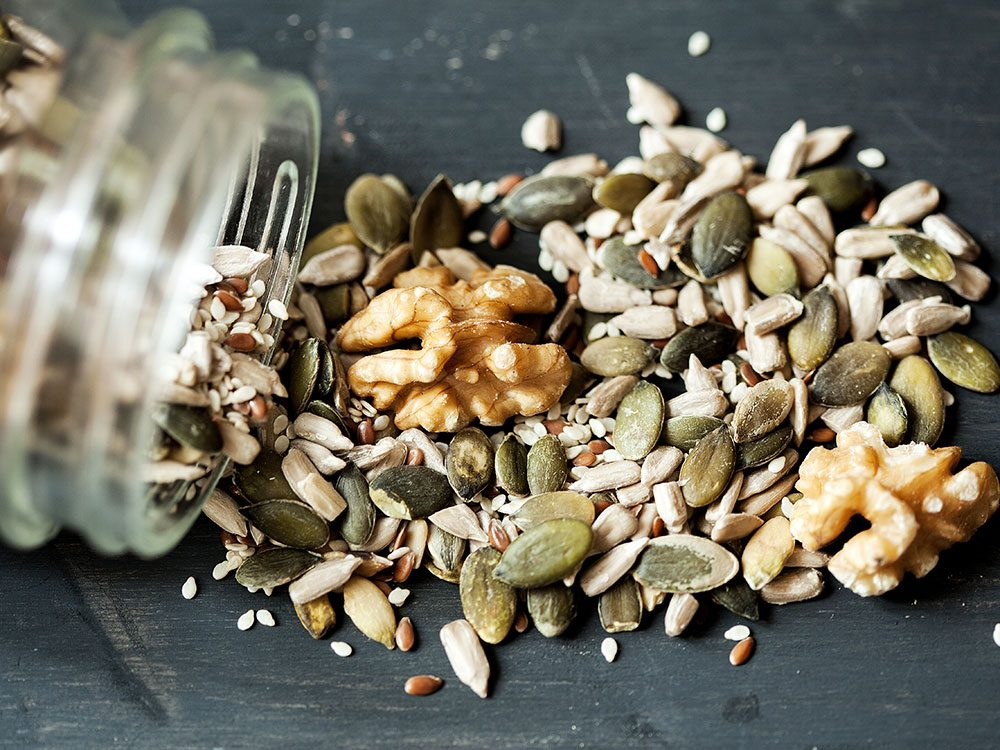 Nuts and seeds fight inflammation