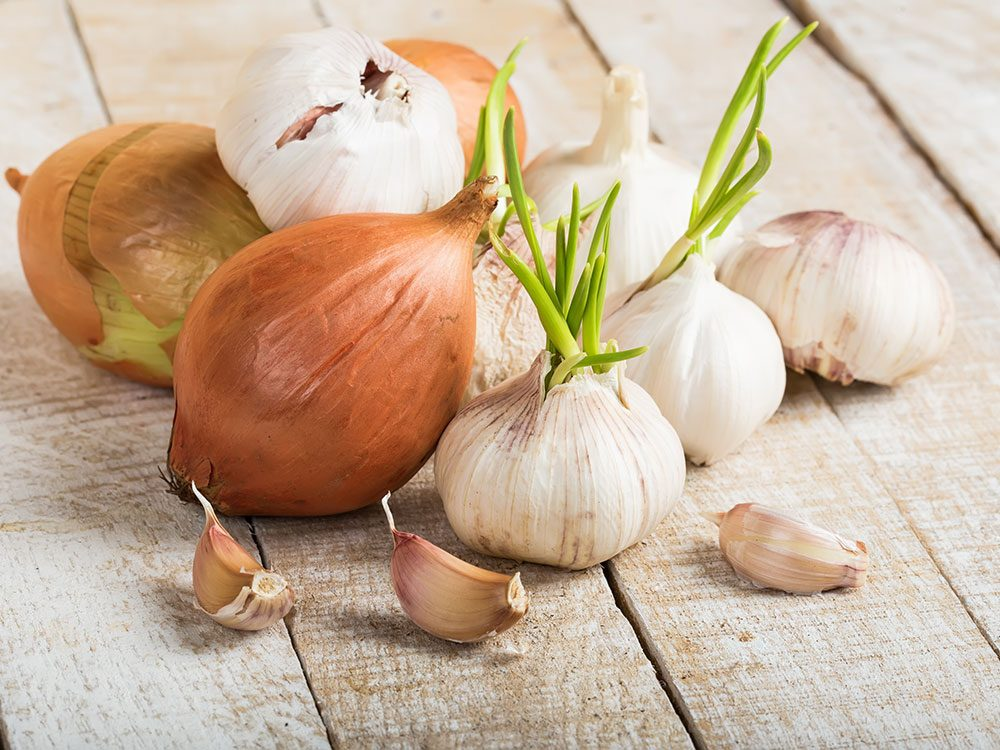 Onions and garlic fight inflammation