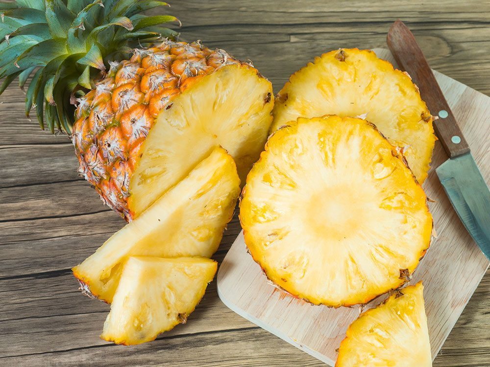 Pineapple fights inflammation