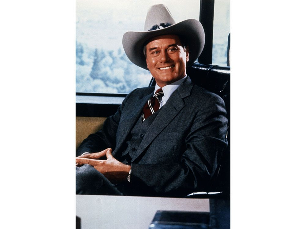 "J.R. Ewing from the show ""Dallas"""