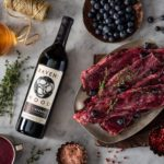 Ravenswood Zinfandel and blueberry marinade