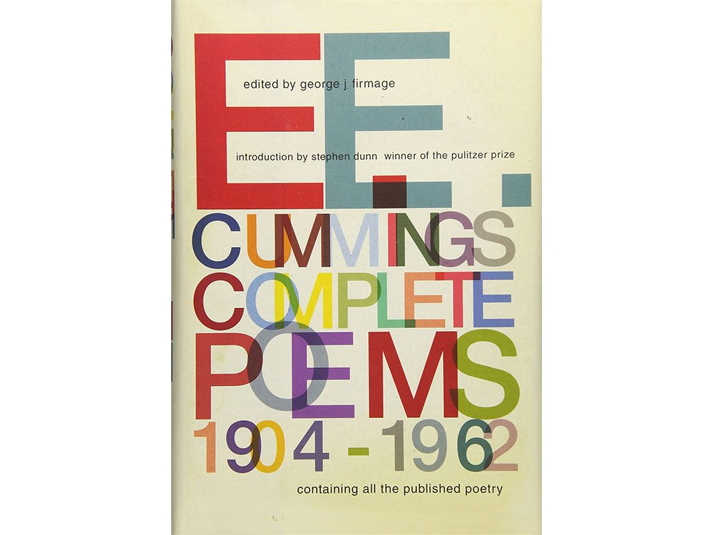 E.E. Cummings poetry collection