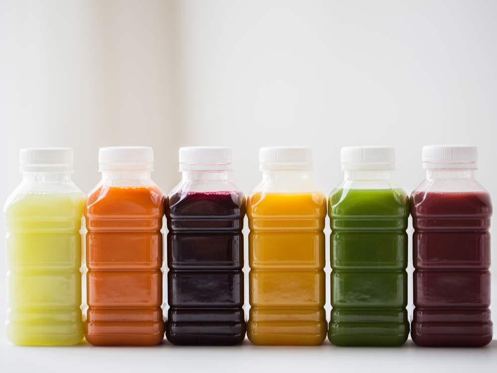 Assorted fruit juices