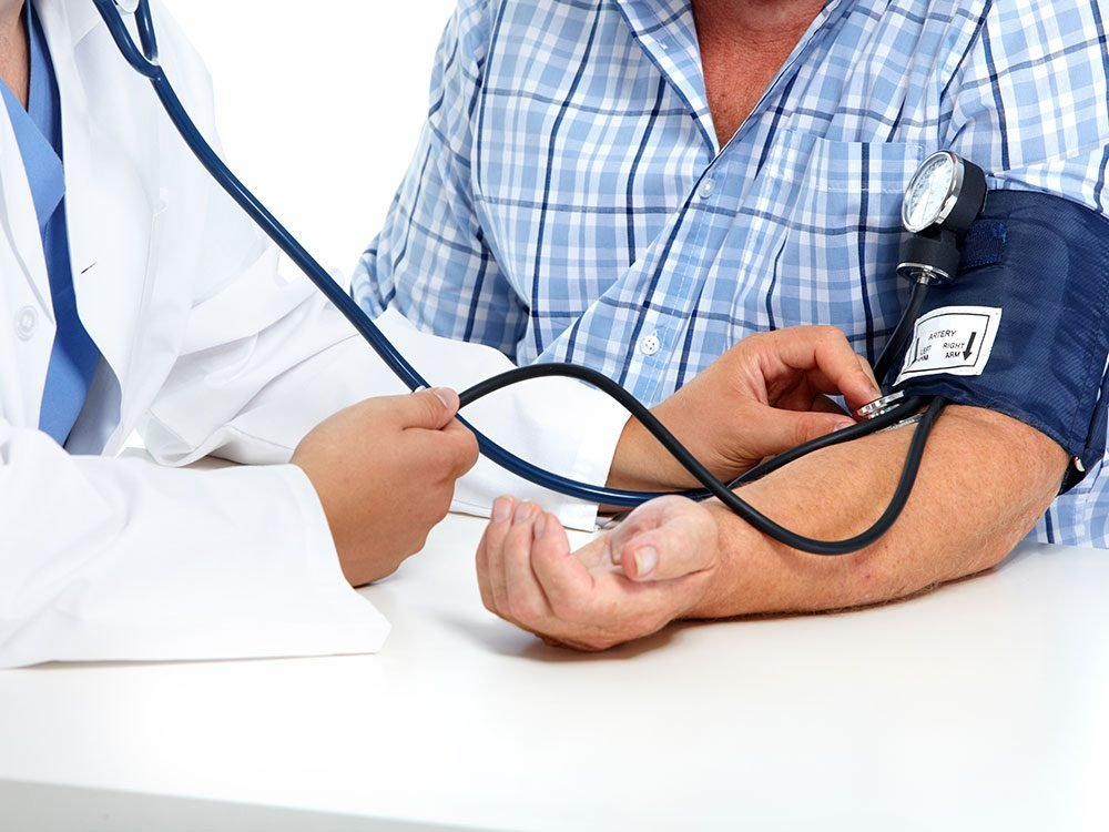 Things that can affect blood pressure reading