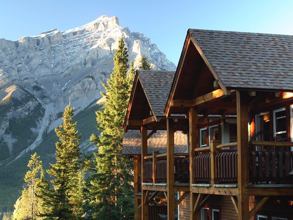 Buffalo Mountain Lodge in Banff, Alberta