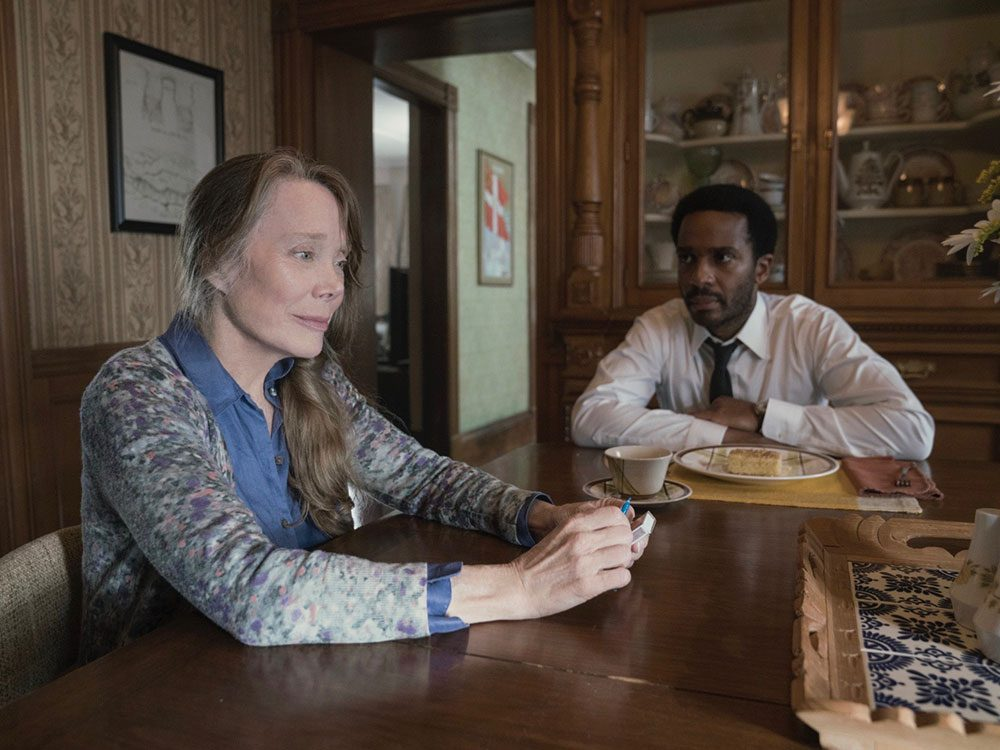 "Sissy Spacek and Andre Holland in ""Castle Rock"""