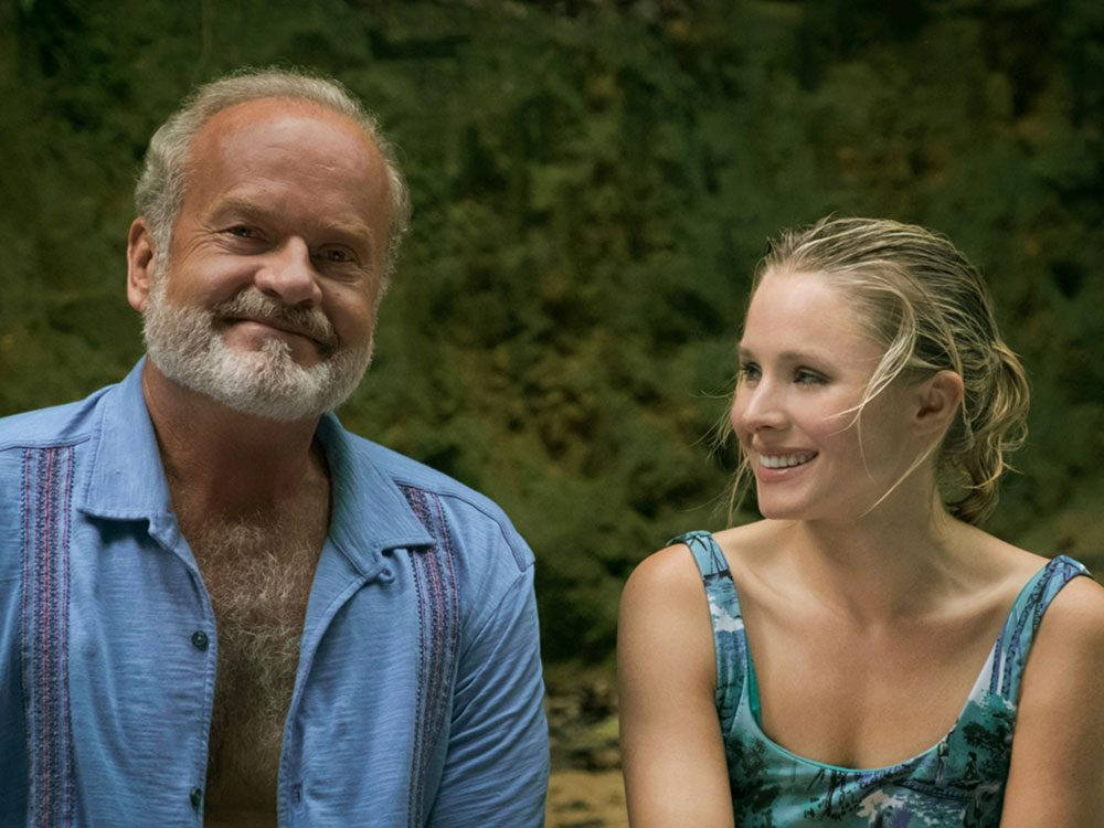 """Kesley Grammer and Kristen Bell in """"LIke Father"""""""