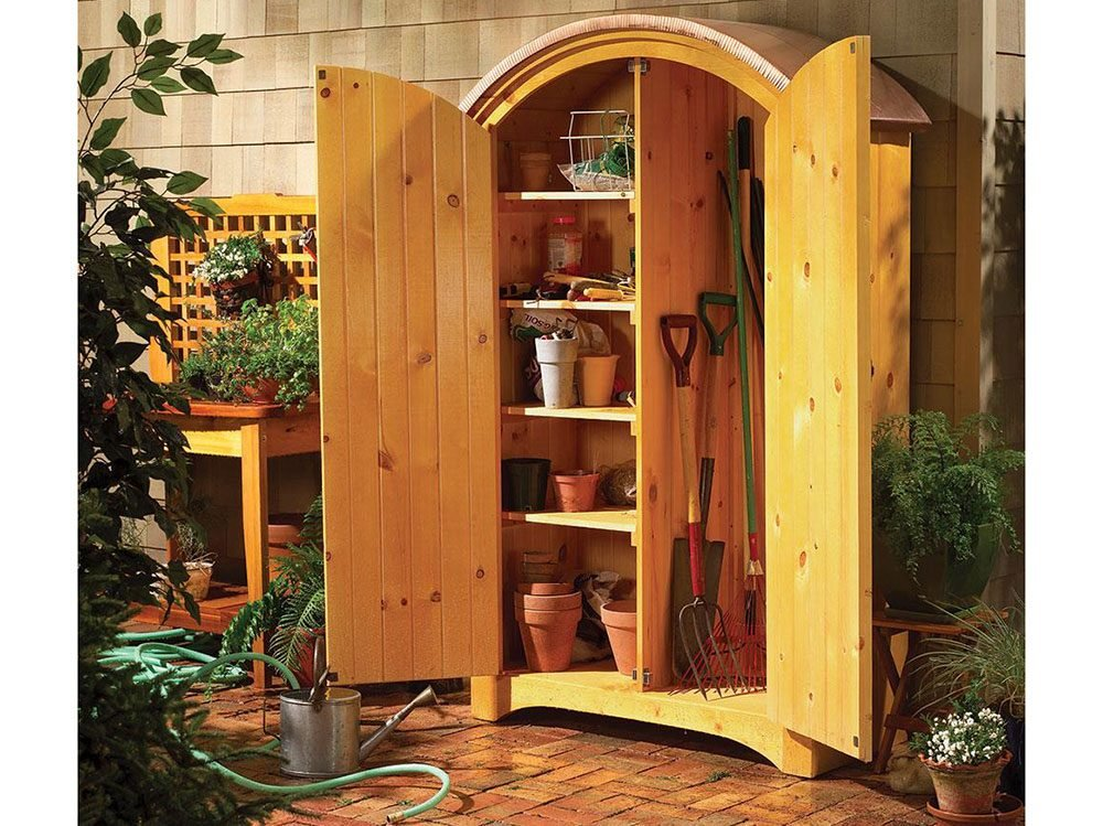 Add outdoor storage