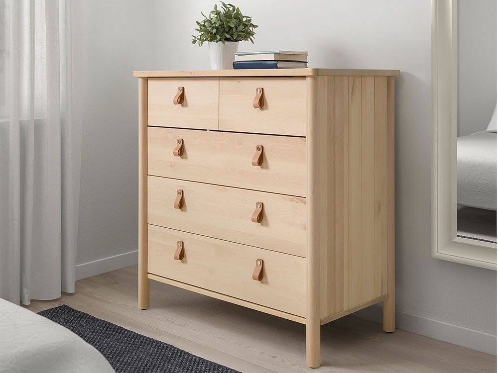 New IKEA catalogue: Bjorksnas chest of drawers