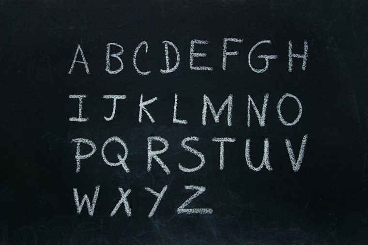 Can You Guess the Letter That Starts the Fewest Words in the English Language?