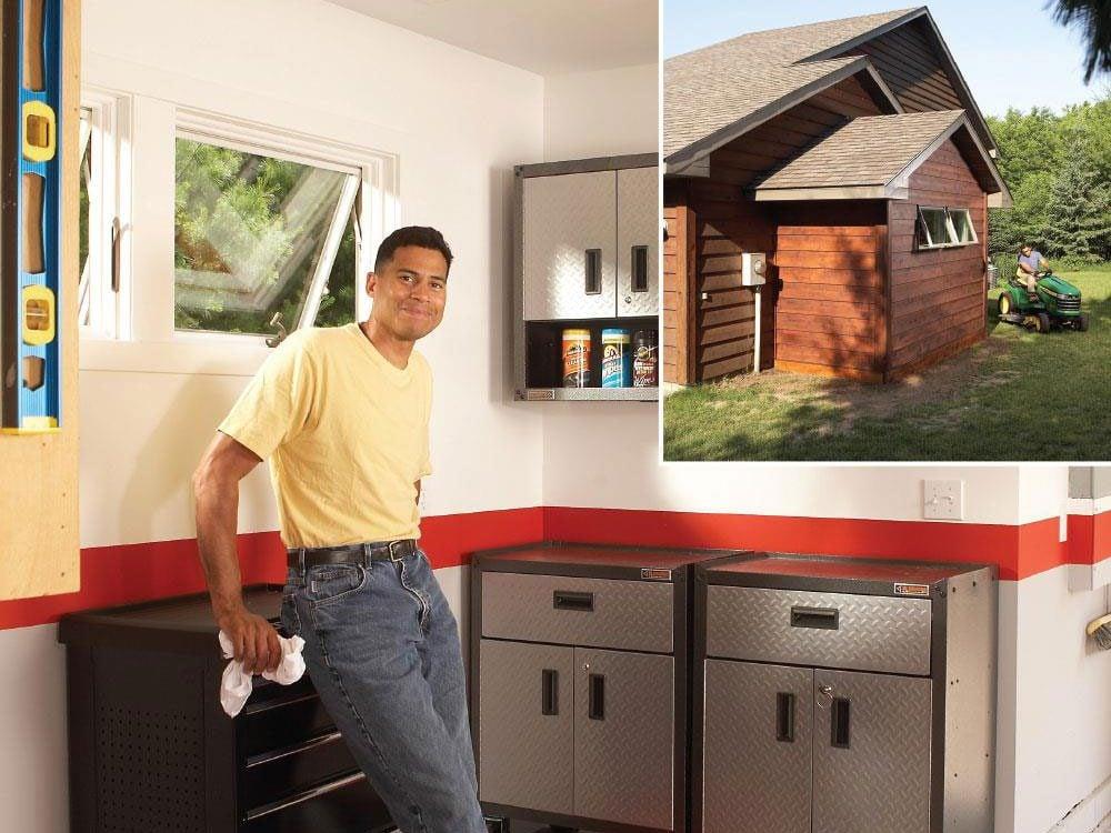 Enlarge your garage