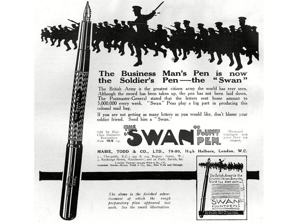 1900s pen