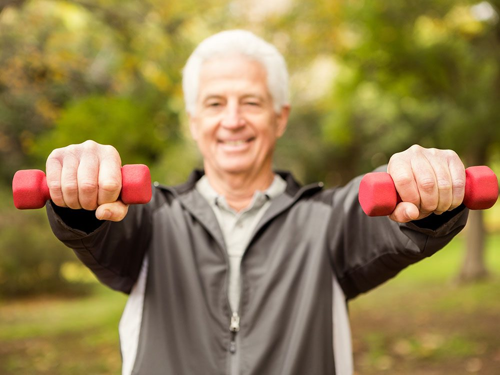 Best exercises for seniors: Strength Training