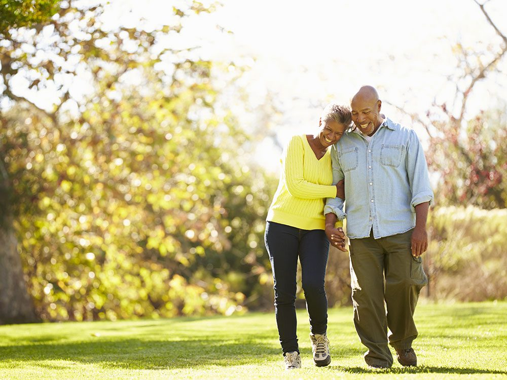 Best exercises for seniors: Walking