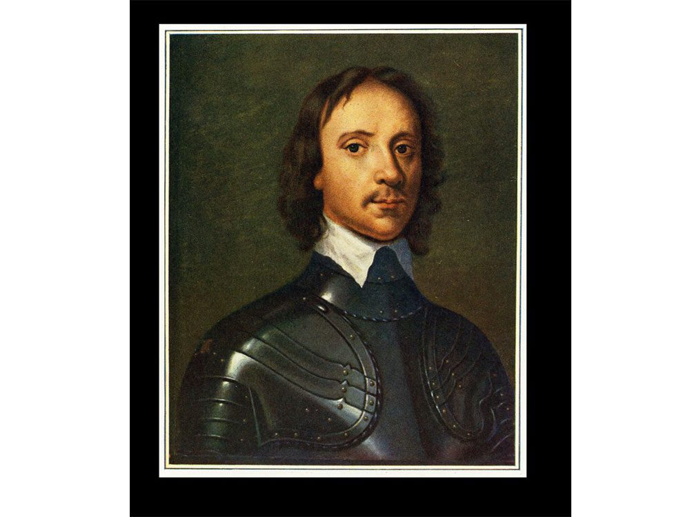 Painting of Oliver Cromwell