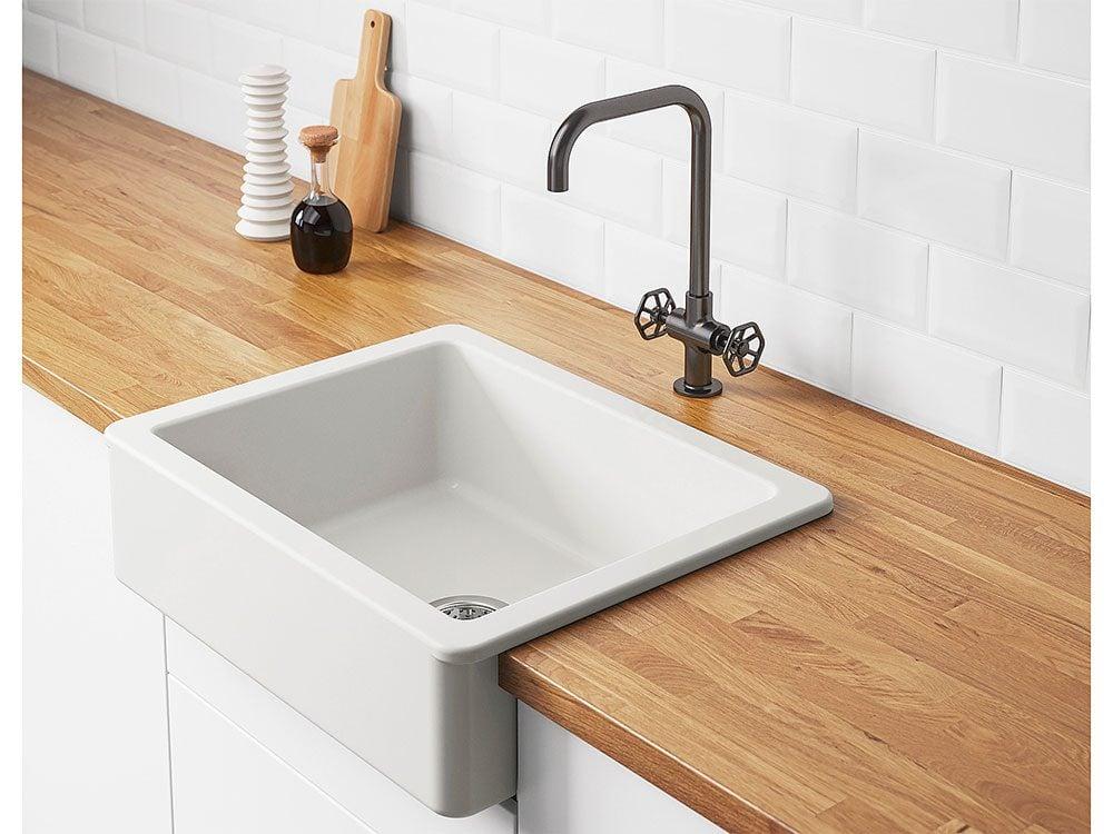 New IKEA Catalogue: Havsen apron front sink