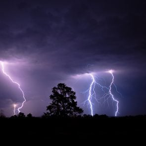 Things never to do in a thunderstorm