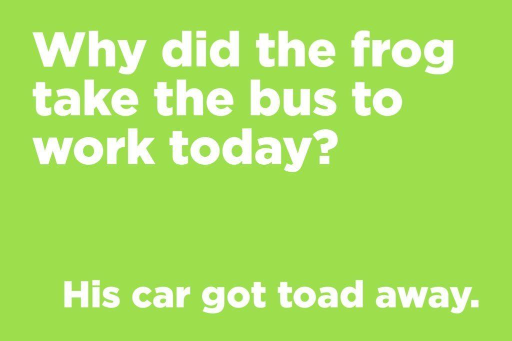 Frog joke