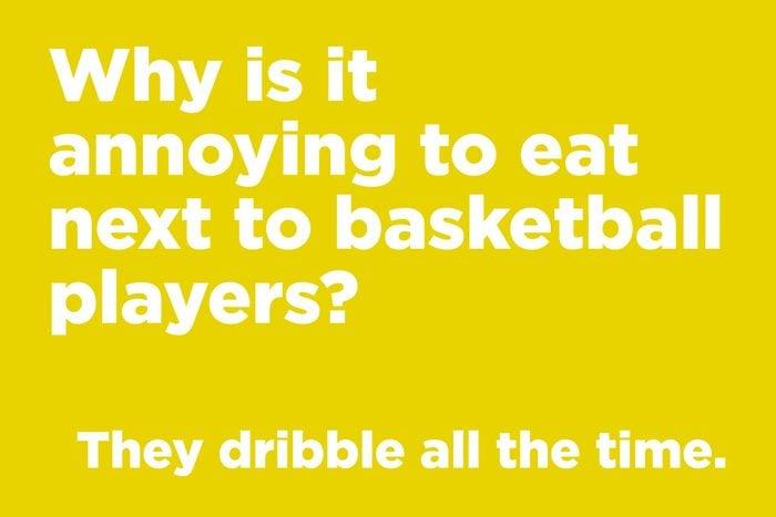 Basketball joke