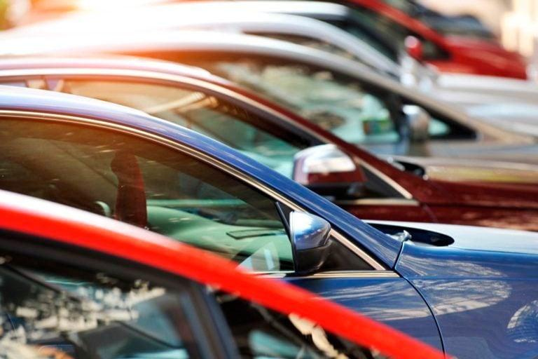Brand new vehicles at dealership