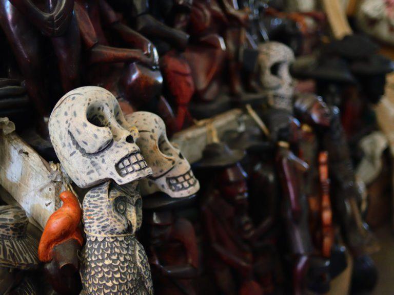 Haitian voodoo dolls