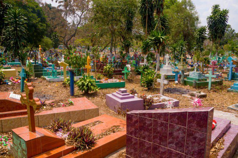 Cemetery in El Salvador