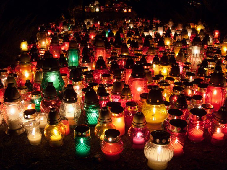 All Souls' Day in Poland