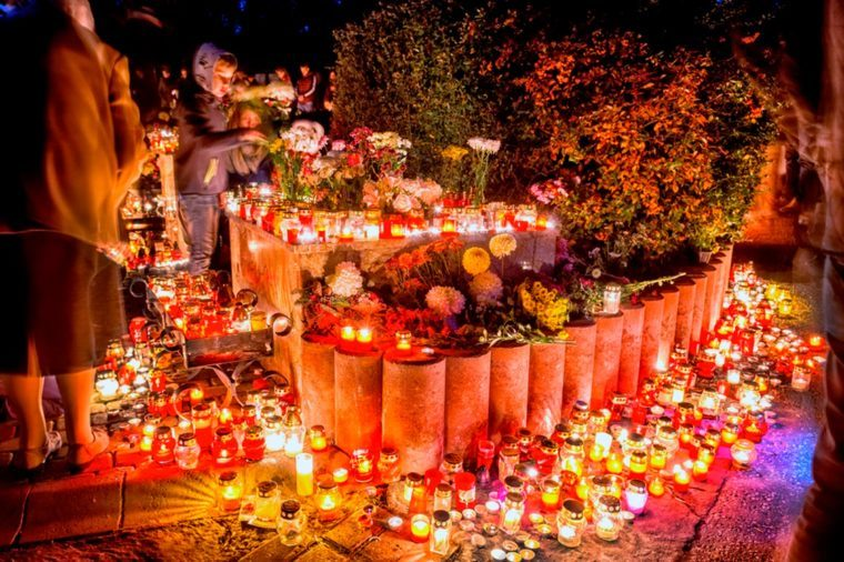 All Souls' Day in Hungary