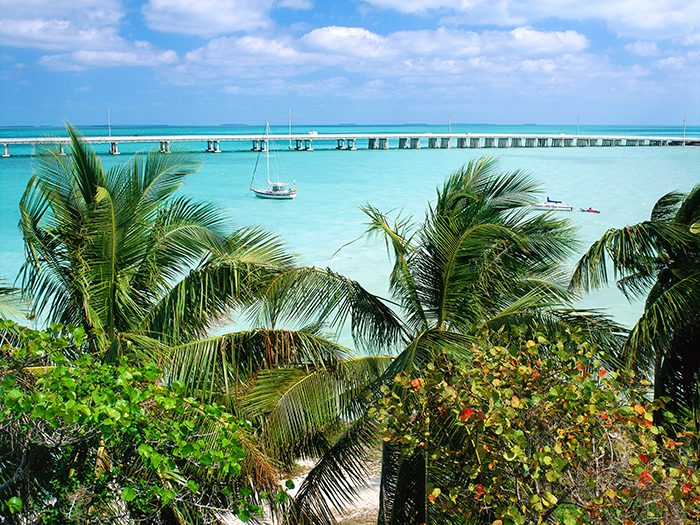 Seven Mile Bridge at Bahia Honda State Park in the Florida Keys