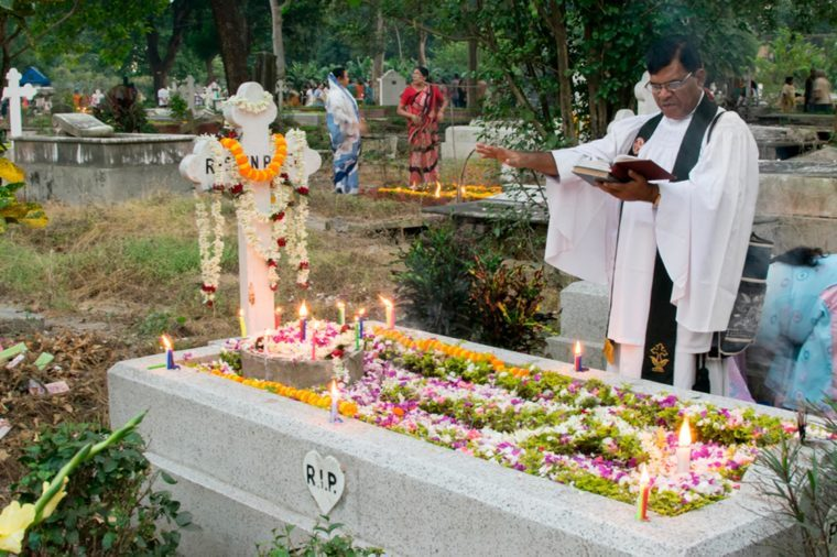 All Souls Day in India