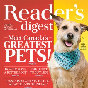 Inside the November 2018 Issue of Reader's Digest Canada