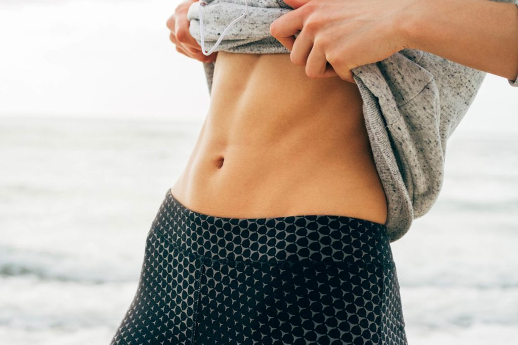 Flat Stomach in 10 Minutes
