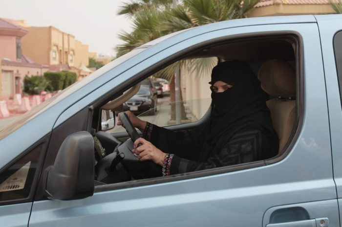 Aziza Yousef drives a car in Riyadh, Saudi Arabia, as part of a campaign to defy Saudi Arabia's ban on women driving. In the six months since Saudi activists renewed calls to defy the kingdom's ban on female drivers, small numbers of women have gotten behind the wheel almost daily in what has become the country's longest such campaign