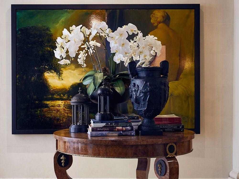 Brian Gluckstein black basalt Wedgwood collection