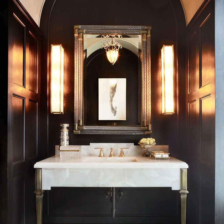 Brian Gluckstein powder room