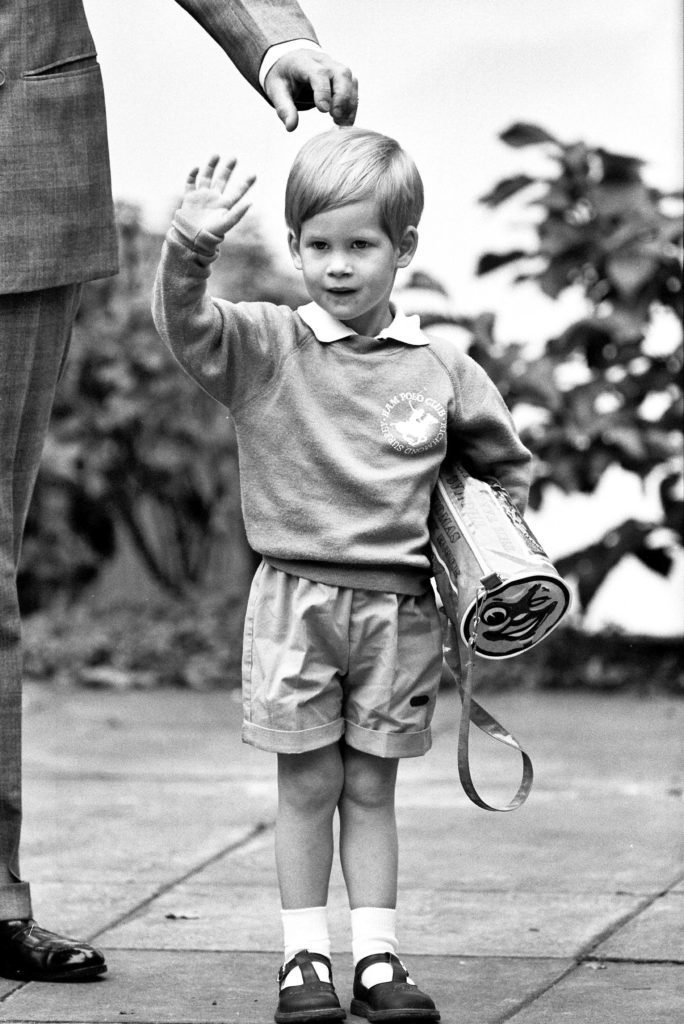 Young Prince Harry