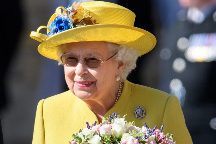 The Queen at the Ceremony of the Keys